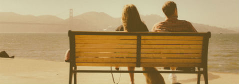 Financial Protection Header Image - Couple on bench in San Francisco