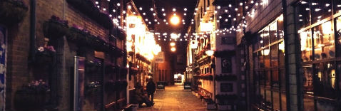 Personal Taxation Header Image - Belfast Street at night