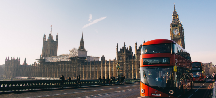London Bus - Westminister